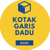 Kemeja Kotak Garis Dadu Logo