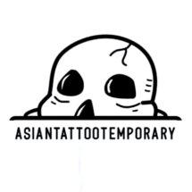 Logo Asian Tattoo Temporary