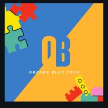 Logo OB (ORANGE BLUE) toys