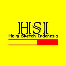 Logo Helm Sketch Indonesia