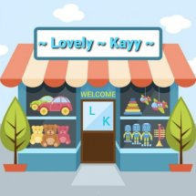 lovely kayy Logo