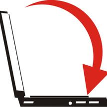 Back Computer Logo