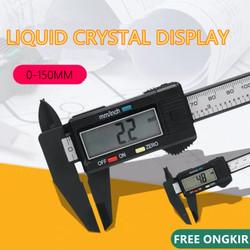 Jangka Sorong Sketmat Sigmat Digital Vernier Caliper Murah Carbon