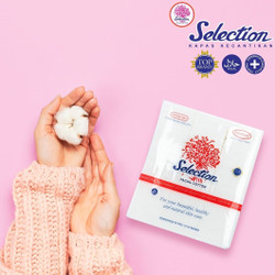 Selection Kapas Wajah Facial Cotton 50gr 50 gr kapas kotak - 50gr Selection