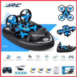 3 in 1 Mini Drone JJRC H36F TERZETTO Ground Water Air Racing Boat H36