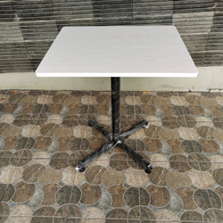 meja cafe / meja resto/ meja makan uk.60x70xT.75