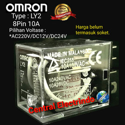 Relay Omron LY2. - AC 220V