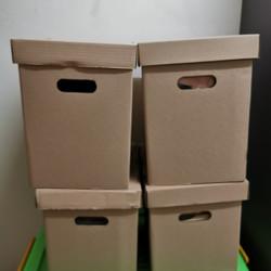 File box kardus kotak arsip bahan tebal ukuran 365mm x 250mm x 355mm