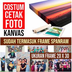 Cetak Foto Kanvas/Canvas Photo Print