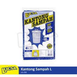 Lucsa Kantong Sampah L 60-80L - Plastik Sampah Bin Liner Garbage Bag