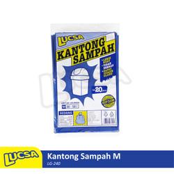 Lucsa Kantong Sampah M 30-50L - Plastik Sampah Bin Liner Garbage Bag