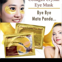 MASKER MATA COLLAGEN CRYSTAL EYE MASK EYE BAG