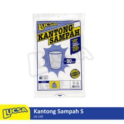 Lucsa Kantong Sampah S 5-18L - Plastik Sampah Bin Liner Garbage Bag