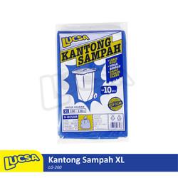 Lucsa Kantong Sampah XL 100-120L Plastik Sampah Bin Liner Garbage Bag
