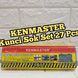 KUNCI SOK SET 27 PCS KENMASTER / PROFESSIONAL SOCKET WRENCH KENMASTER