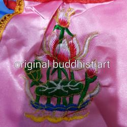 baju dewa/jubah kimsin 6 inch pink teratai