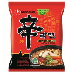 Nongshim Shin Ramyun Noodle Soup 120 g