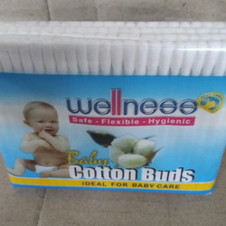 Wellness Cutton Bud Dewasa Bayi 100pc Refill - BABY 100
