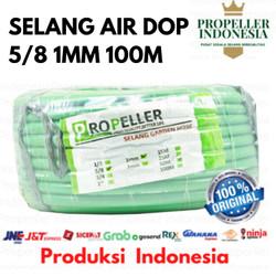 SELANG AIR 5/8 1MM 100M DOP/SELANG AIR TAMAN/SELANG AIR CUCI MOTOR - Hijau