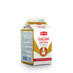 RICHS Rich's GOLD LABEL Whipping Cream 907 gr 1000 Whip Topping Emas