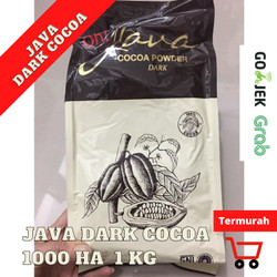 BT COCOA JAVA DARK POWDER BT1000HA 1 kg coklat ASLI