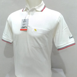 Kaos Kerah Polo Shirt Pria ARNOLD PALMER 100% ORIGINAL PUTIH - Putih, M