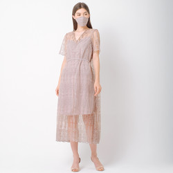 ATELIER MODE Cocktail Dress Embroidered Timeless Harra Dress Wanita