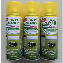 ZONE AC Cleaner Spray Disinfectant Pembersih AC Mobil Ruangan 400 ml