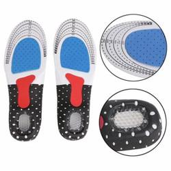 Shoe Pad Silicone Alas Kaki Sepatu Gel Insole Empuk Sepatu Sneaker Ant - L