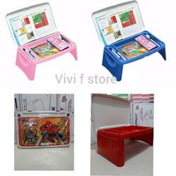 Meja Lipat Anak/Meja Belajar Anak/Meja Lipat merk Napolly - Spiderman