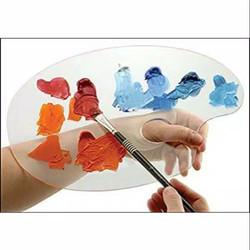 palette lukis bahan acrylic 19x29cm