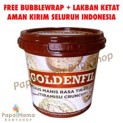 Goldenfil Selai Crunchy KHUSUS GOJEK Promo Murah 1kg Tiramisu
