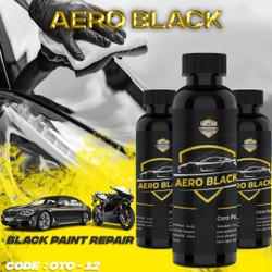AERO BLACK cat hitam body repair motor mobil anti gores cat wax semir