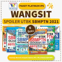 Buku Wangsit 2021 UTBK SBMPTN 2021 Platinum IPS Soshum Terbaru