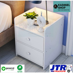 NAKAS ( Meja Kamar Tidur)/ Bedside Table Modern - Ukuran 33x26x40cm