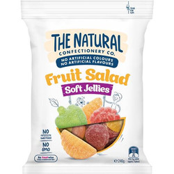 THE NATURAL Confectionery Fruit Salad Soft Jelly 240 Gram (Australia)