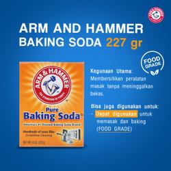 arm & hammer baking soda 227gram