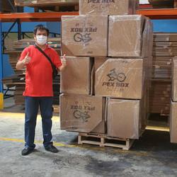 BOX SEPEDA LIPAT - Cokelat