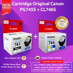 Cartridge Original 745s 746s Printer Canon MG2570S TR4570S TS307 TS207 - PG745S CL746S
