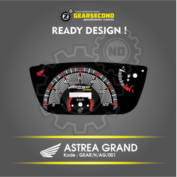 Ready Design Panel Speedometer Custom Astrea Grand - Gearsecond
