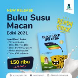 Buku Sakti TPS UTBK Susu Macan SBMPTN 2021