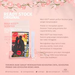MAUI KISS™ 1.5 ml Scented WOMEN Pheromone Parfum Tester Original USA