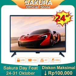 Sakura TV 24 inch HD Ready LED Televisi (TCLG-S24A)