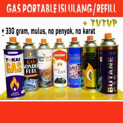 Gas Tabung Portable Refill/Isi Ulang
