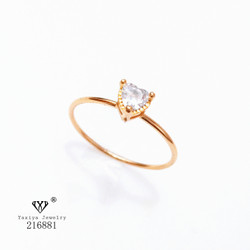 Cincin mata 1 Permata Perhiasan imitasi Yaxiya Jewelry 216881
