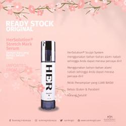 HerSolution® Stretch Mark Serum 50ml Kenyal Kencang Bebas Selulit ORI