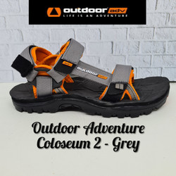 Sandal Gunung OUTDOOR ADVENTURE COLOSEUM 2 (Original) - Grey, 43