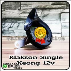 Klakson Keong Single 12v - Mantap Buat Motor
