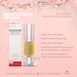 Skinception® Instant Wrinkle Reducer 15ml Anti Kerutan Keriput ORI