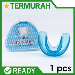 Teeth Trainer Alignment Orthodontic Retainer Alat Perapih perapi gigi - BIRU KARTUN